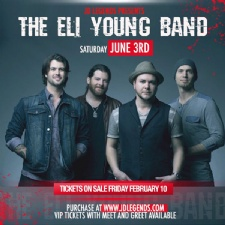 Eli Young Band at JD Legends