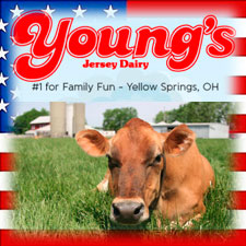 Memorial Day Weekend at Youngs Dairy
