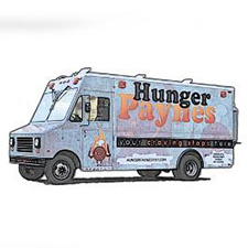 Hunger Paynes Food Truck At Wild Axe Throwing
