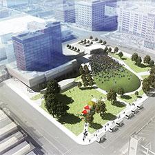 Levitt Pavilion Dayton Construction to Begin