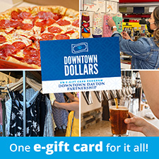 On Sale Now: Downtown Dollars, an e-gift card