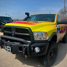 Local dealership donates new DARE vehicle to Xenia Police Division