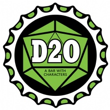 D20 : A Bar With Characters