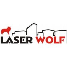 Laser Wolf Engraving