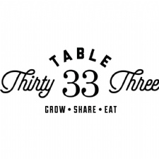 Table 33 Restaurant Week Menu