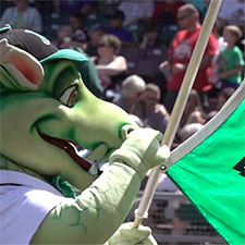As scheduled Opening Day passes, we celebrate the Dayton Dragons