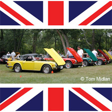 British Car Day at Eastwood MetroPark