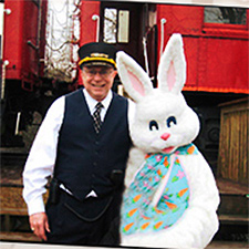 Easter Egg Bunny Express