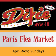 Paris Flea Market at Dixie Drive-In