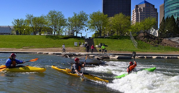 Downtown Dayton River Kayaking
