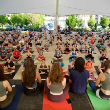 Fitness in the Park at Riverscape