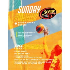 Sunday Funday Free Volleyball Tournament Series