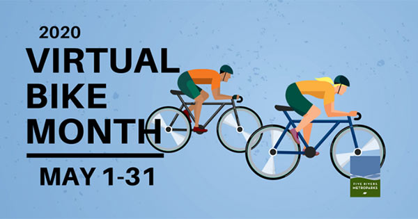 Virtual Bike Month with Five Rivers MetroParks