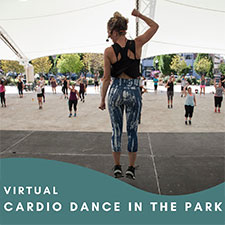 Virtual Cardio Dance in the Park
