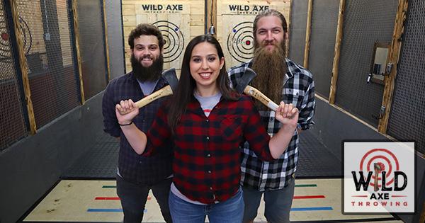 Wild Axe Throwing: Lumberjack Night