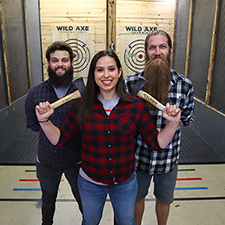 Wild Axe Throwing: Lumberjack Night
