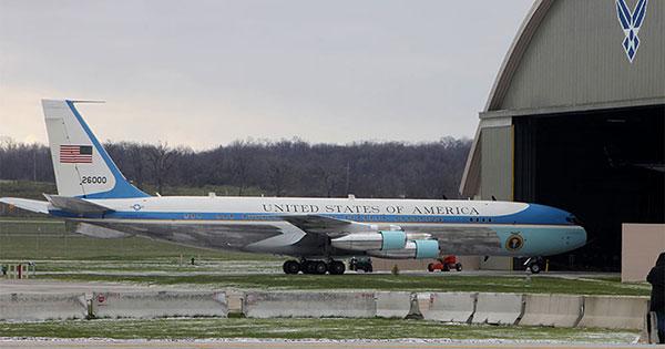 JFKs Air Force One on display in Dayton