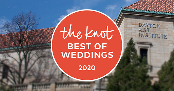 Dayton Art Institute Named 'Best of Weddings' Winner