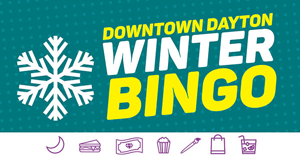 PLAY NOW: Win prizes in the Downtown Dayton Winter Bingo game