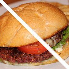 Which Burger is Better, the 'Meadow' or the 'Lark'?