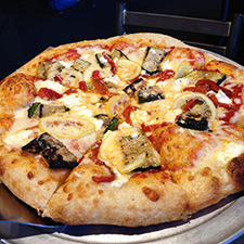 Creative Pizzas and Gluten Free Options at Wheat Penny Oven and Bar