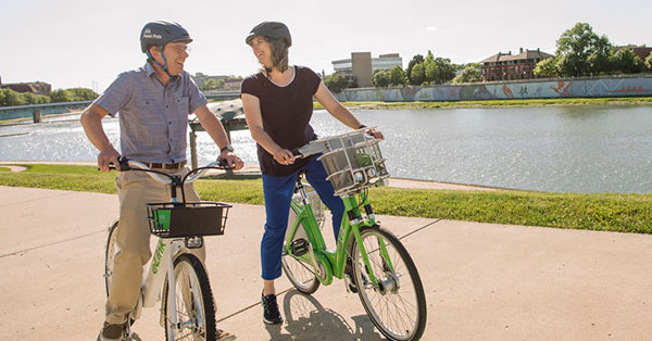 Dayton Bike Share Celebrates Soft Launch through July 4th Weekend