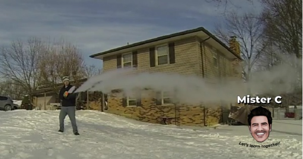 So What Happens When You Boil Snow?