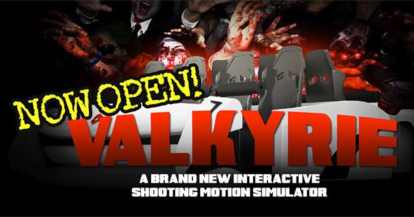 New Zombie Shooting 4D Motion Experience Now Open at Scene75