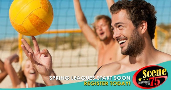 Scene75's Volleyball Leagues Are Back!