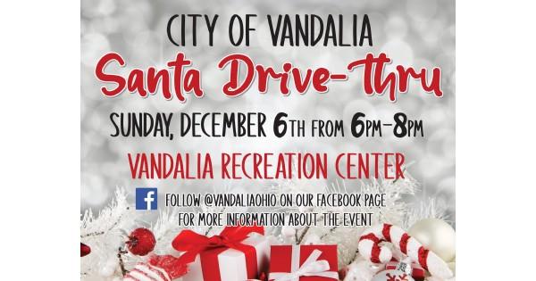 City of Vandalia Santa Drive-Thru