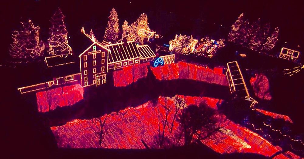 Christmas Lights 2020 Ohio Clifton Mill Christmas Lights 2020