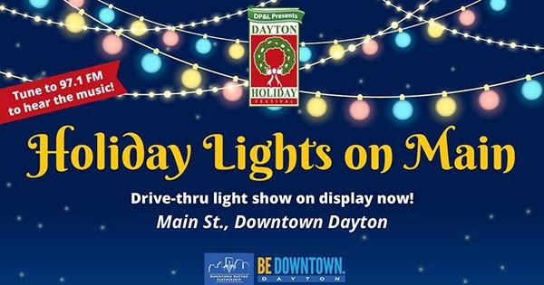 FREE Holiday Lights on Main display