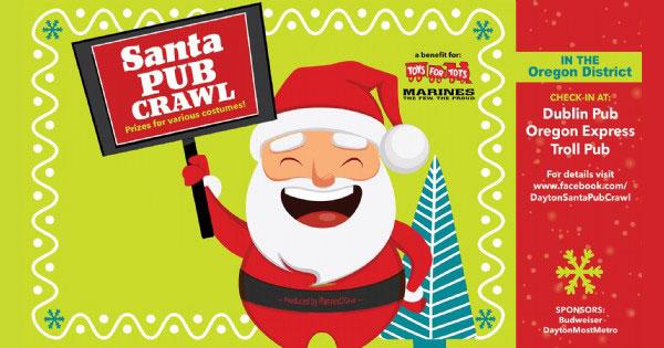 Toys for Tots Santa Pub Crawl