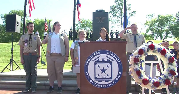Centerville Memorial Day Ceremony