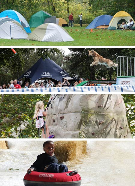 Children's Activities at the Outdoor Experience