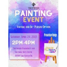 City of Trotwood Parks and Recreation Painting Event