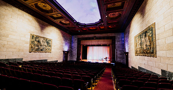 Dayton Art Institute Cuts Ribbon on Renovated Rose Auditorium