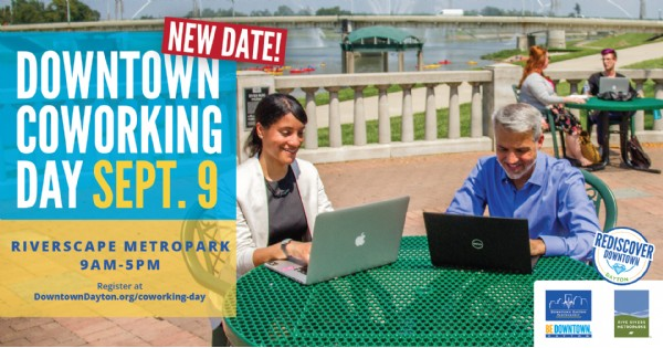Downtown Coworking Day at RiverScape MetroPark
