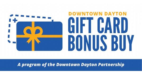 Downtown Dayton Gift Card Bonus Buy program launches