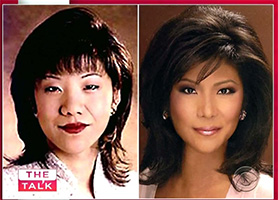 Julie Chen - then and now