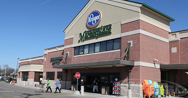 Kroger testing one-way grocery aisles to improve social distancing