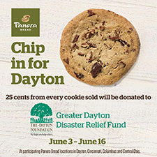 Panera 'Chip in for Dayton' to Benefit Tornado Victims