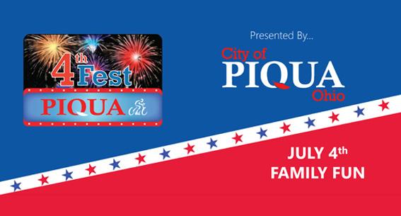 City of Piqua 4th Fireworks
