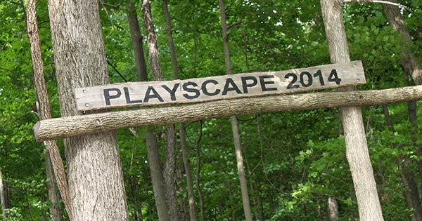 Have your kids discovered the Lovely Nature Playscape?