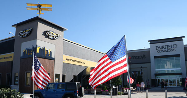 The Mall at Fairfield Commons Salutes Military Neighbors
