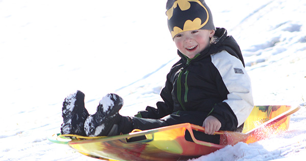 Top Places for Sledding Around Dayton