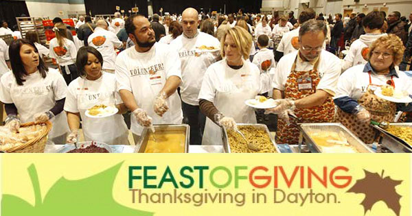 Feast of Giving - Thanksgiving in Dayton
