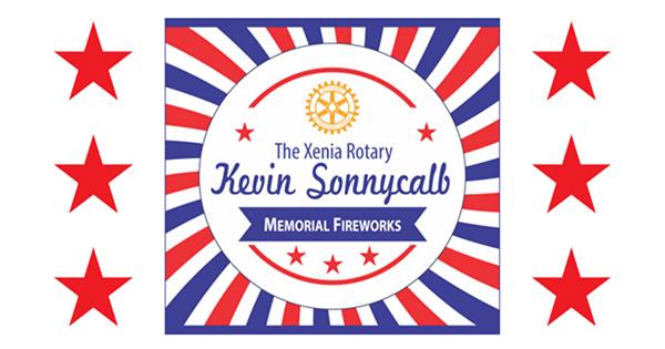 Kevin Sonnycalb Memorial Fireworks in Xenia
