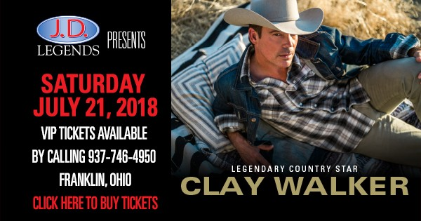 Clay Walker at JD Legends