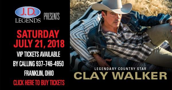 Clay Walker at JD Legends
